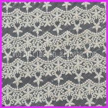 Wholesale african net tulle chemical lace fabric for dress WLF53