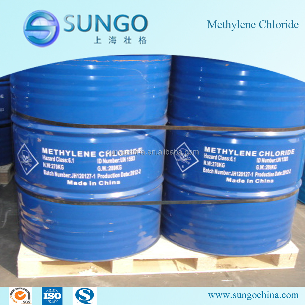 Methylene Chloride / Dichloromethane MC 99.99% factory price