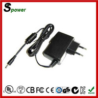 12V1A AC DC Power Adapter 12W with UL SAA CSA PSE KC ROHS CB GS approval