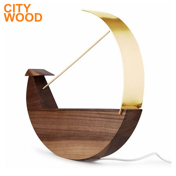 2017 new design fashion wood wall light