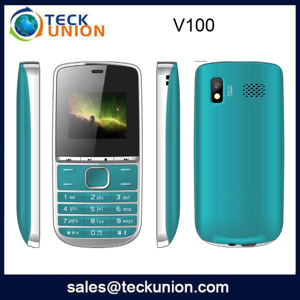 V100 Low Price China Mobile Phone 1.77 inch small screen all china mobile phone models