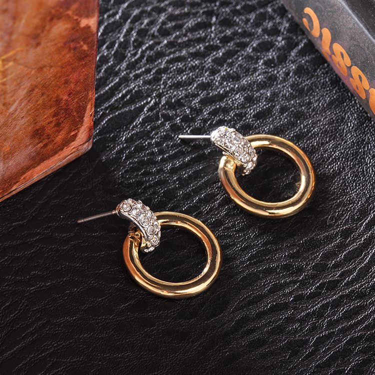 Fashion Jewelry Manufacture Simple Gold Earring Designs For Women