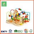 New Design Wooden Bead Roller Coaster Maze Toy for Children Ages 1 and UP