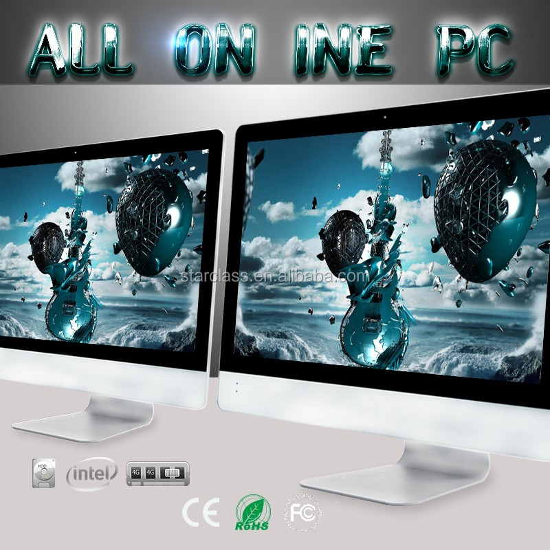 Discover the new All in one PC 23.6 inch Intel Core i5 4 GB RAM 500 GB You can have it now desktop PC