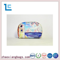 Zhaoxiang new leather professional cosmetic bags for women