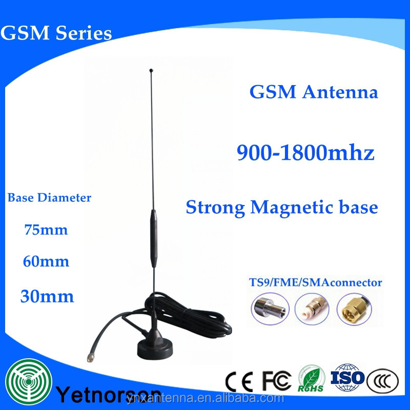 868MHZ/915MHZ/GSM antenna small sucker 7dbi aerial 3meters cable SMA male