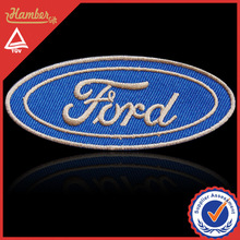 Handmade embroidery car logo patch