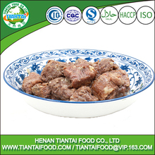 Kitchen prefer cooked steamed beef