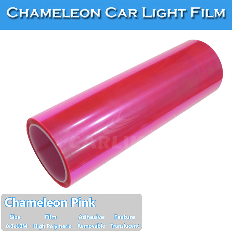 CARLIKE New Type Tinted Chameleon PVC Vinyl Film For Car Headlight