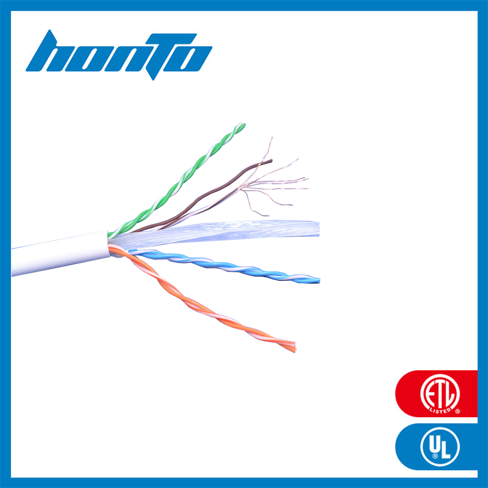 UTP Cat6a Lan Cable Best guarantee 8 number conductor ISO ROHS Factory & Trade Company