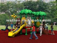 Top Quality Rubber-coating Outdoor Playground Equipment