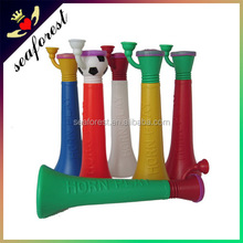 2015 Plastic toy trumpet football fans horn for football games