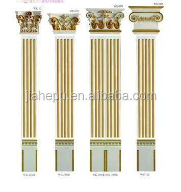 faux marble columns with water proof / mould proof PU material