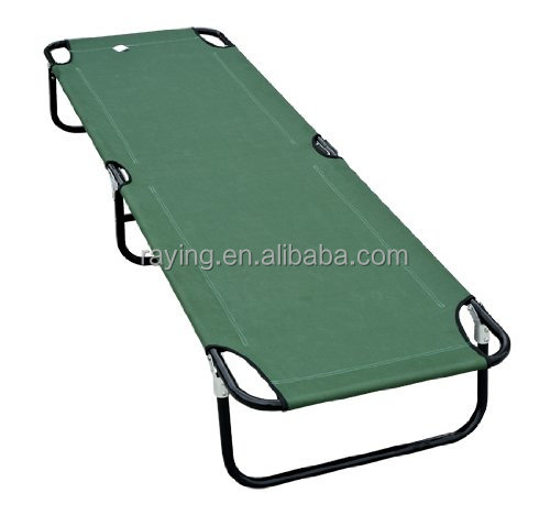 2016 Deluxe Folding bed Military-style Camping mat Cot - Green