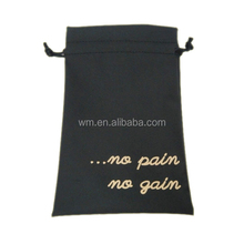 polyester drawstring gift bag packing pouch,OEM/ODM service