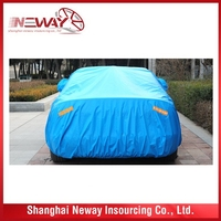 Wholesale customized folding sliver car cover