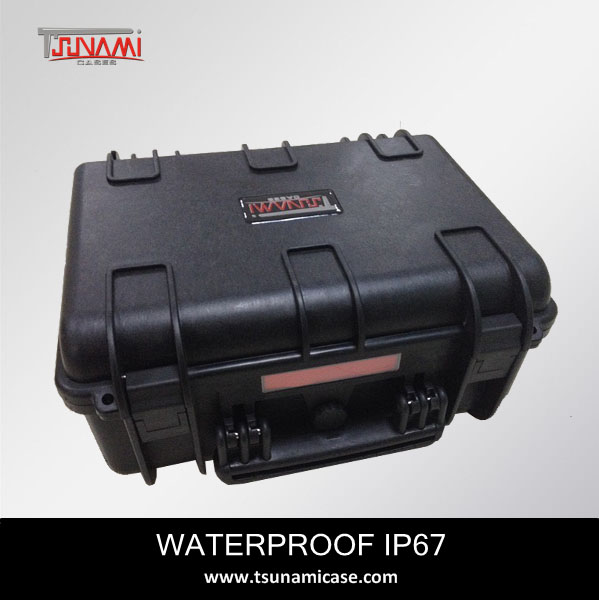 Tough sturdy equipment case,waterproof,anti-shock plastic foam lined case