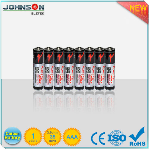 1.5V UM4 r03p aaa carbon zinc battery, aaa r03 dry battery with SGS certification