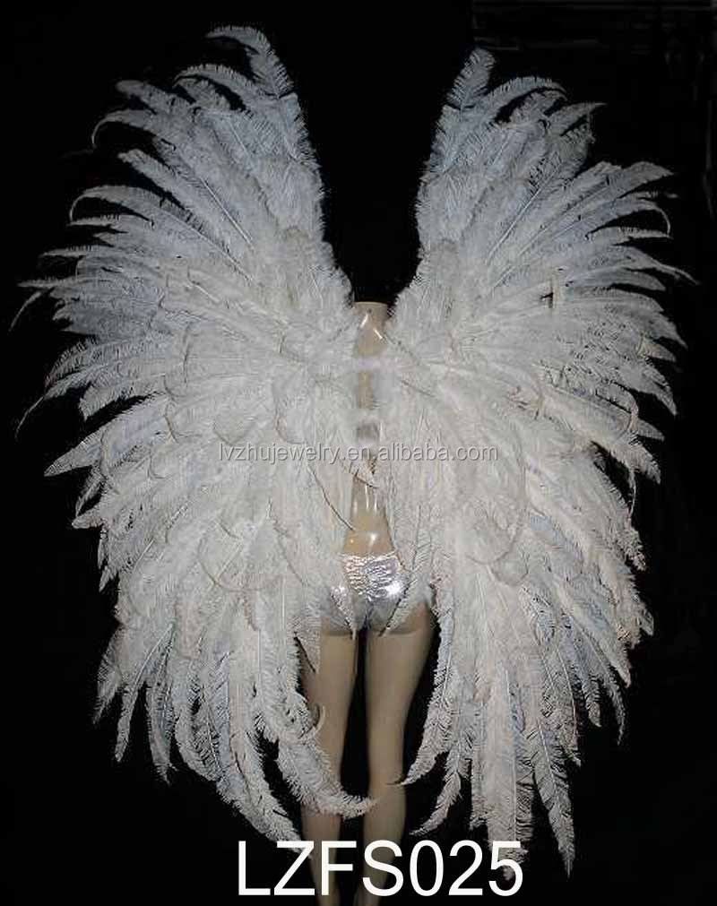 Costume Dance Feather backpieces Angel Wing LZFS025