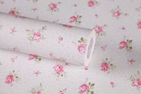 wall paper rolls PVC self adhesive wall paper little flower printed wallpapers DIY home decoration with water glue
