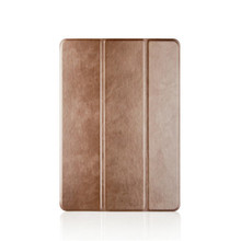 New Product TPU Back Shell Wholesale Tablet 3Folio Leather Protective Cover for Apple ipad Air 2 ipad6 with Stand Function