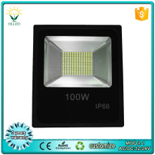 9000lm high CRI SMD RGB color changing 20w 50w 100w outdoor pir led flood light