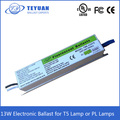 13W Electronic Ballast for Fluorescent Lamp or PL Lamps