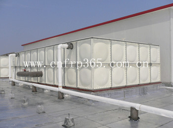 FRP/SMC/GRP insulated water storage tank
