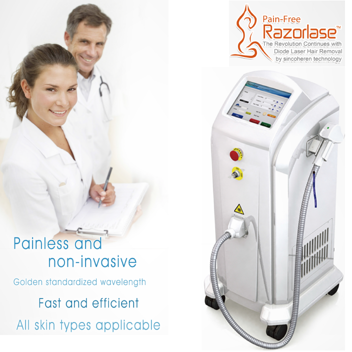 Monalisa Laser 808nm Diode Laser Hair Removal Machine