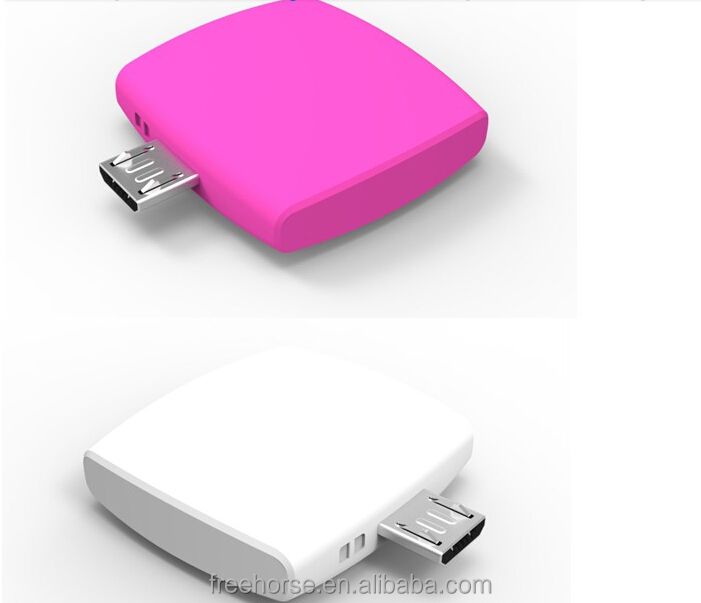 Portable Power Bank Emergency Charger One Time Use Battery 600mah Disposable Power Bank