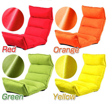 Floor sofa Five-speed adjustment memory shred foam folding sofa chair