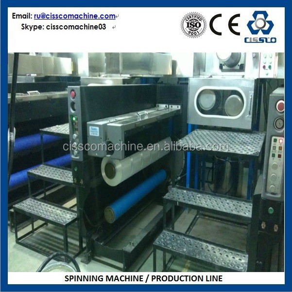Automatic and Spinning Production Line, Ring Spinning Machine