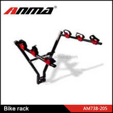 Car rear mount 3 bike carrier / bike rack for