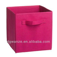 2013 collapsible non-woven fabric storage boxes