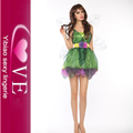Flutter Sexy Mischievous Green Fairy Costume With Wings