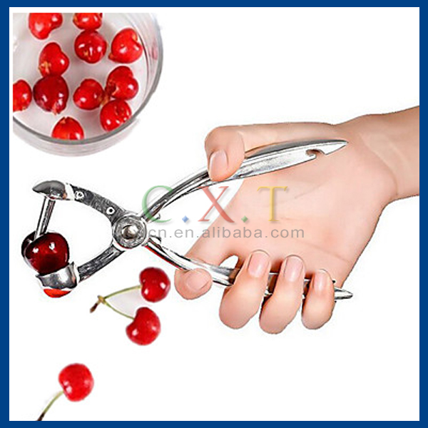 Cherries Fast Nucleate Creative Tools Kitchen Cherry Gadgets Tools Cherry Pitter Seed Tools