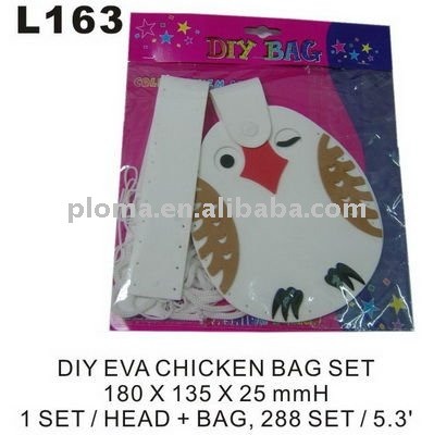 L163 DIY EVA CHICKEN BAG SET
