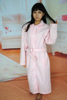 Soft Double - Sided Plush Personalized Bathrobe for Women