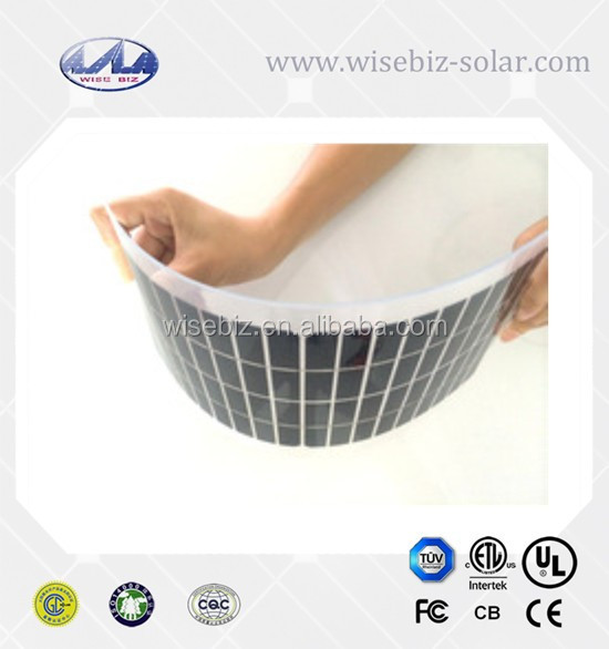 China Supplier Solar Power High Efficiency Flexible Solar Panels 300W
