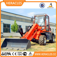 China lifting capacity 1.5 Ton new design telescopic loader