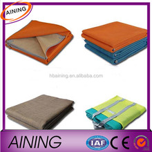 China Fashion Pe Woven Foldable Beach Mat