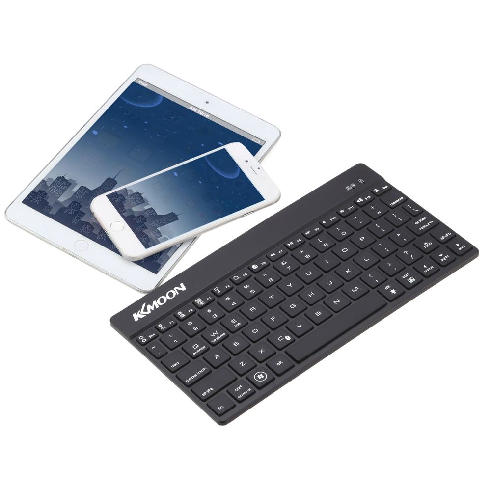 Portable Mini Ultra Slim Thin Aluminum Backlit Bluetooth Wireless Keyboard for iPhone 6s/iPad Pro/MacBook Mobile Phone Tablet PC