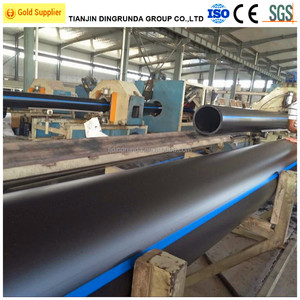 sdr41-7.4/PN4-25 PE pipe HDPE water pipe ISO4427 AS/NZS4130 GB/T13663-2000 ASTM F714