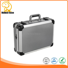 Ningbo Factory Multi-function Custom Design Portable Aluminum Tool Box with foam and logo printing