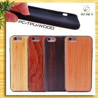 2016 Hot Sale Fashion 100% Real Bamboo For iPhone 6 Wood Case In China