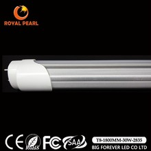 new product ul ce integrated t8 light 28w 30w 33w tube6 t8 led tube 1800mm