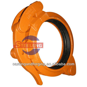 drilled pipe coupling