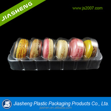 PET clamshell macarons blister packaging