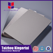 Alucoworld CE certified China supplier 2mm pvdf/pe acp in kerala acm sheet building finishing materials