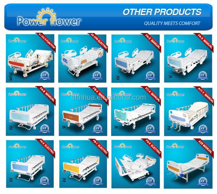 Factory since 1998!FM-4 New type Multi-function adjustable hospital bed dimensions